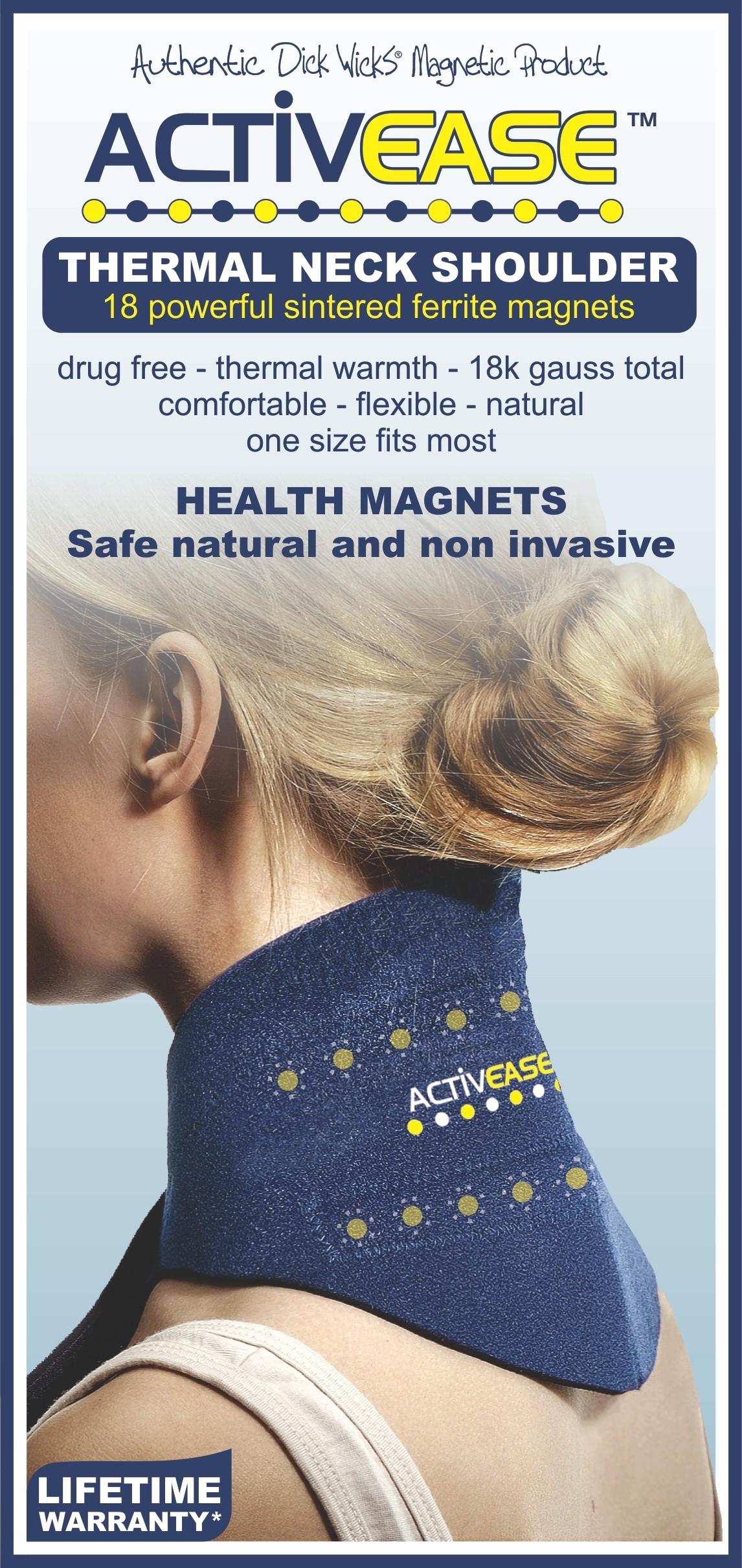 Activease Thermal Neck Support with Magnets by Dick Wicks