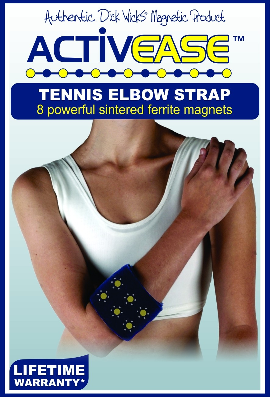 Activease Thermal Magnetic Tennis Elbow Strap with Magnets by Dick Wicks