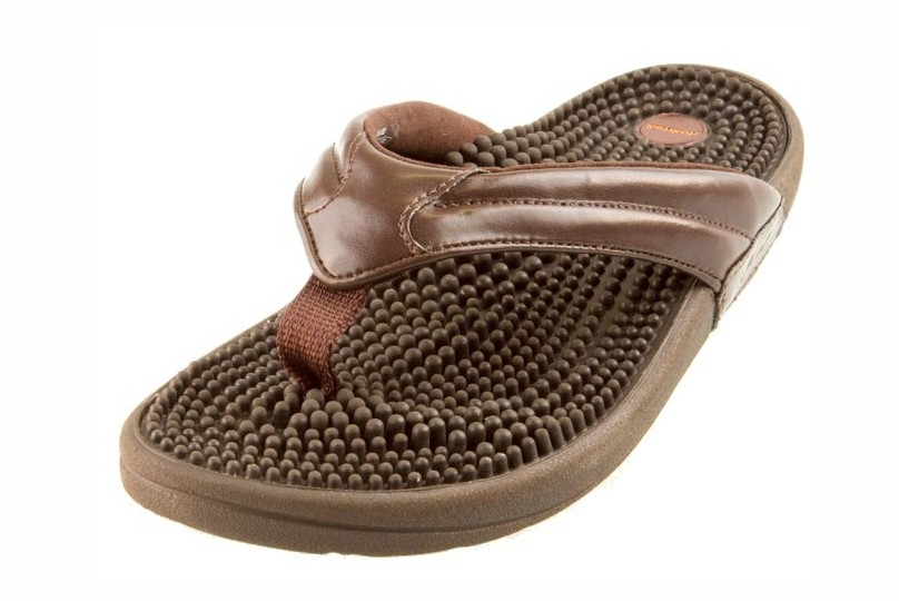Kenkoh Genki Massage Health Sandals (Earth Brown)