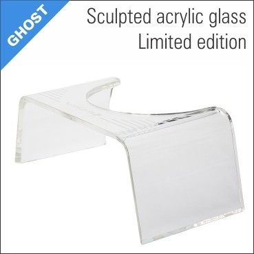Slim-Ghost Squatty™ clear toilet stool