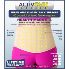 Dick Wicks Activease Magnetic Super Back Support