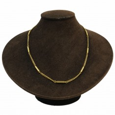 Dick Wicks Magnetic Necklace Classic Barrel 50cm Silver or Gold