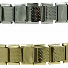 Dick Wicks Wide Band Flex Stretch Health Bracelet with Magnets