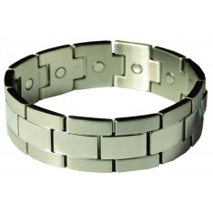 Dick Wicks Premium Magnetic Health Bracelet Komodo Mens Wide-Fit