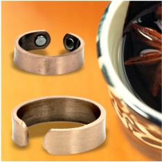 Copper Ring with Magnets
