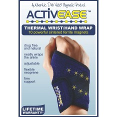 Activease Thermal Wrist Hand Wrap with Magnets by Dick Wicks