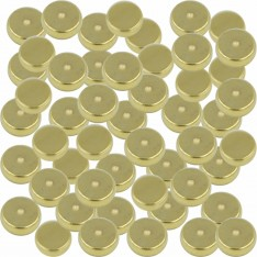 Dick Wicks Neodymium Therapy Magnet Gold Plated 5mm x 2mm Disc x 50pcs